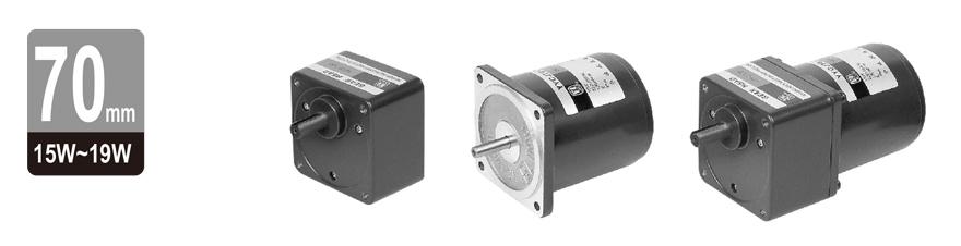 15W~19W单相微型齿轮减速电机图片