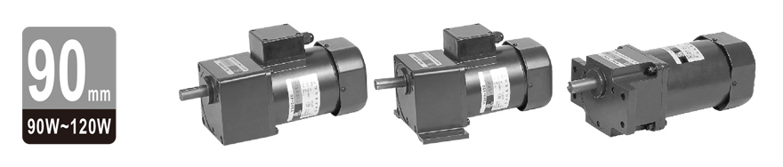 90W~120W三相微型齿轮减速电机图片