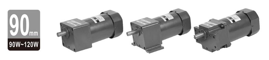 90W~120W单相齿轮减速电机图片