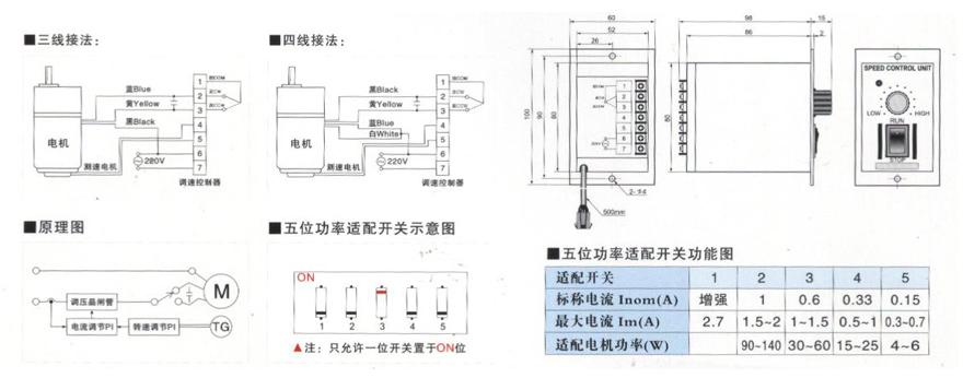 ts-05系列交流电子无极调速器